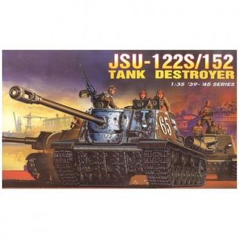 Dragon 6047 Сборная модель САУ JSU-122S / 152 Tank Destroyer (1:35)