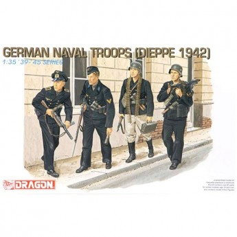 Dragon 6087 Фигуры German Naval Troops (1:35)
