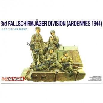 Dragon 6113 Фигуры 3rd Fallschirmjager Division (Ardennes 1944) (1:35)
