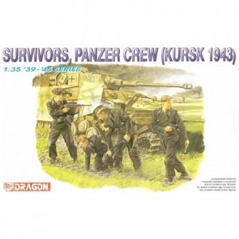 Dragon 6129 Фигуры Survivors, Panzer Crew (Kursk 1943) (1:35)