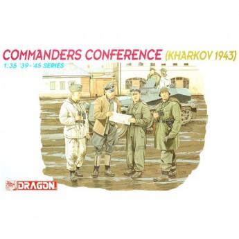 Dragon 6144 Фигуры Commanders Conference (Kharkov 1943) (1:35)
