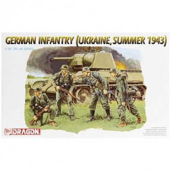 Dragon 6153 Фигуры German Infantry (Ukraine, Summer 1943) (1:35)