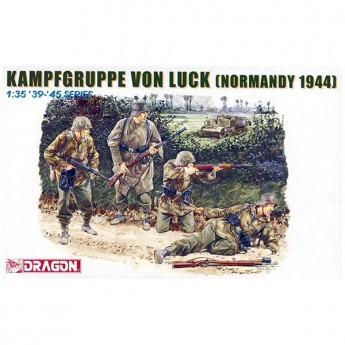 Dragon 6155 Фигуры Kampfgruppe von Luck (Normandy 1944) (1:35)