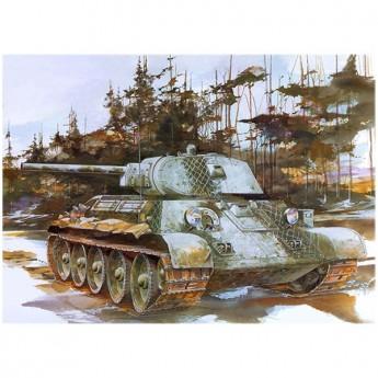 Dragon 6205 Сборная модель танка T-34/76 Mod. 1941 (1:35)