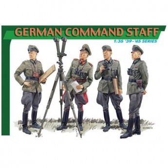 Dragon 6213 Фигуры German Command Staff (1:35)