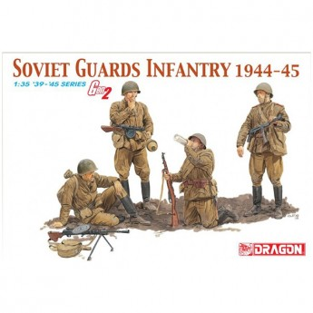Dragon 6376 Фигуры Soviet Guards Infantry 1944-45 (1:35)