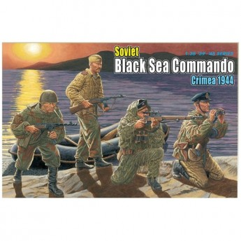 Dragon 6457 Фигуры Soviet Black Sea Commando (Crimea 1944) (1:35)