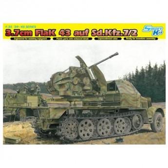 Dragon 6553 Сборная модель САУ 3.7 cm Flak 43 auf Sd.Kfz.7/2 (1:35)