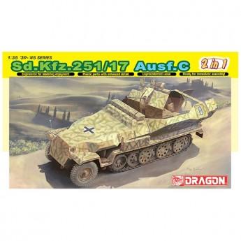 Dragon 6592 Сборная модель БТР Sd.Kfz. 251/17 Ausf.C (1:35)