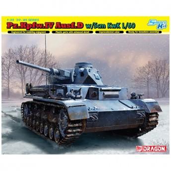 Dragon 6736 Сборная модель танка Pz.Kpfw.IV Ausf.D w/5cm L/60 (1:35)