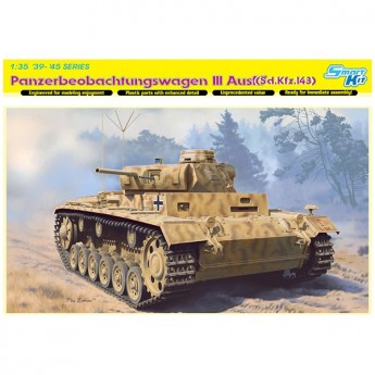 Dragon 6792 Сборная модель танка Pz. Beob. Wg. III Ausf. (1:35)