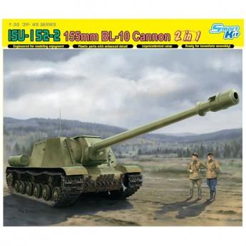 Dragon 6796 Сборная модель САУ ISU-152-2 155mm BL-10 Cannon (1:35)