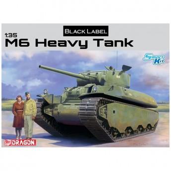 Dragon 6798 Сборная модель танка M6 Heavy Tank (1:35)