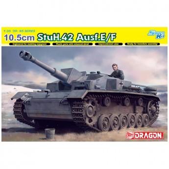 Dragon 6834 Сборная модель САУ 10.5cm StuH.42 Ausf.E/F (1:35)