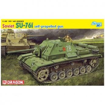 Dragon 6838 Сборная модель САУ SU-76i Self-Propelled Gun (1:35)