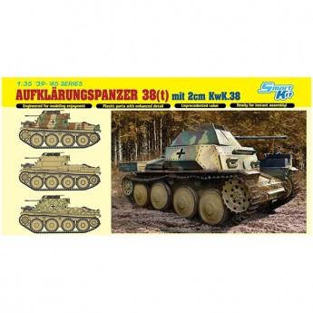 Dragon 6890 Сборная модель танка Aufklarungspanzer 38(t) mit 2cm Kw.K.38 (1:35)