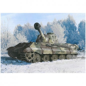 Dragon 6900 Сборная модель танка Kingtiger Late Production w/New Pattern Track s.Pz.Abt.506 Ardennes 1944 (1:35)