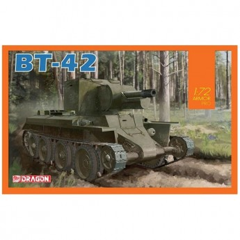 Dragon 7565 Сборная модель танка BT-42 (1:72)