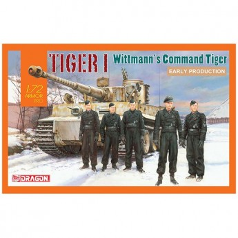 Dragon 7575 Сборная модель танка Tiger I Early Production Тигр Витмана (1:72)