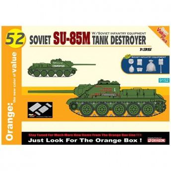 Dragon 9152 Сборная модель САУ Soviet SU-85M (1:35)