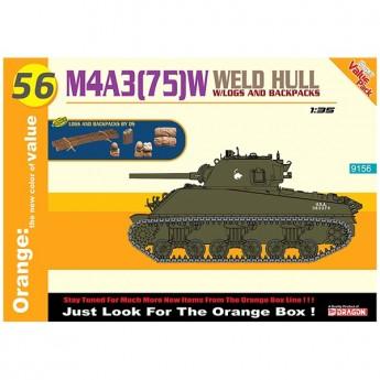 Dragon 9156 Сборная модель танка M4A3(75)W WELDED HULL (1:35)