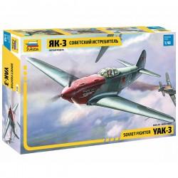 Звезда 4814 Сборная модель самолета Як-3 (1:48)