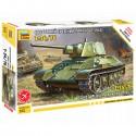 Звезда 5001 Сборная модель танка Т-34/76 1943г. (1:72)