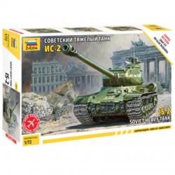 Звезда 5011 Сборная модель танка ИС-2 (1:72)