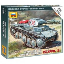 Звезда 6102 Сборная модель танка Т-II (1:100)