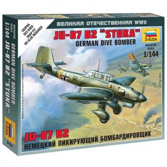 Звезда 6123 Сборная модель самолета Ju-87B2 (1:144)