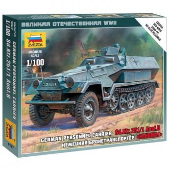 Звезда 6127 Сборная модель бронетехники Ханомаг (1:100)