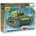 Звезда 6141 Сборная модель тяжелого танка КВ-1 обр. 1940 года (1:100)