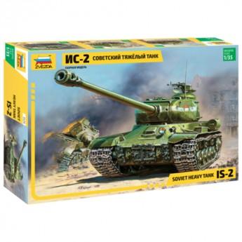 Звезда 3524 Сборная модель танка Ис-2 (1:35)