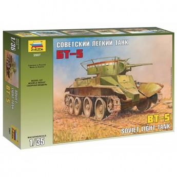 Звезда 3507 Сборная модель танка БТ-5 (1:35)