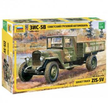 Звезда 3529 Сборная модель грузовика ЗиС-5 (1:35)