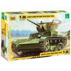 Звезда 3538 Сборная модель танка Т-26 образца 1933 г. (1:35)
