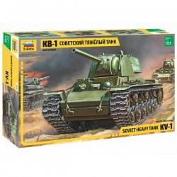 Звезда 3539 Сборная модель танка КВ-1 (1:35)