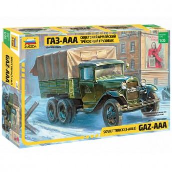 Звезда 3547 Сборная модель грузовика ГАЗ-ААА (1:35)