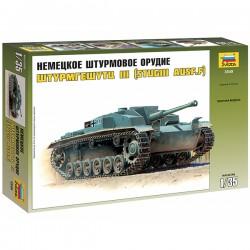 """Звезда 3549 Сборная модель немецкого танка """"Штурмгешутц III F"""" (1:35)"""