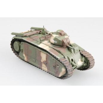 Easy Model 36160 Готовая модель танка B-1 bis музей Саумюр Франция 2002 г (1:72)