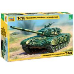 Звезда 3551 Сборная модель танка Т-72Б с активной броней (1:35)