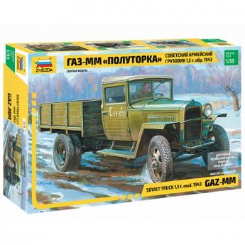 Звезда 3574 Сборная модель грузовика ГАЗ-ММ (1:35)