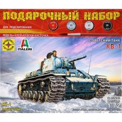 Моделист ПН307240 Сборная модель танка КВ-1. Подарочный набор (1:72)