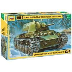Звезда 3624 Сборная модель танка КВ-1 мод. 1940г. (1:35)