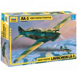 Звезда 4803 Сборная модель самолета Ла-5 (1:48)