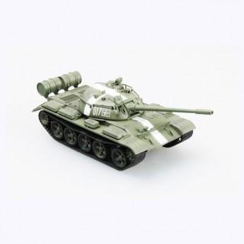 Easy Model 35024 Готовая модель танка Т-55 в Праге 1968 г (1:72)
