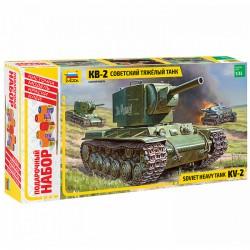 Звезда 3608П Сборная модель танка КВ-2. Подарочный набор (1:35)