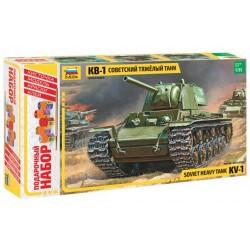 Звезда 3539П Сборная модель танка КВ-1. Подарочный набор (1:35)