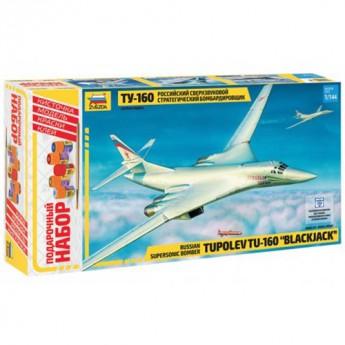 Звезда 7002П Сборная модель самолета Ту-160. Подарочный набор (1:144)