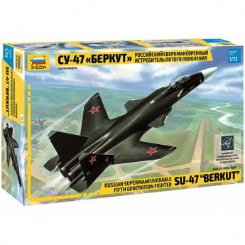 """Звезда 7215 Сборная модель самолета Су-47 """"Беркут"""" (1:72)"""